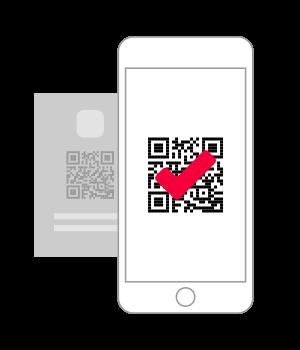 Escaneie o Código QR